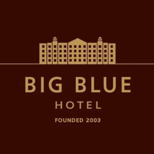 Logo for Big Blue Hotel